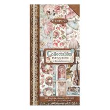 "Stamperia Collectables Pad 6x12"" - Passion (motiv-blok)"