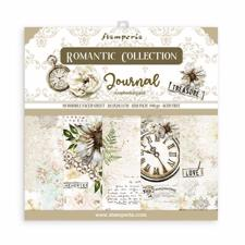 "Stamperia Paper Pack 8x8"" - Journal (lille)"