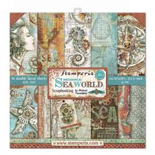 "Stamperia Paper Pack 12x12"" - Sea World"