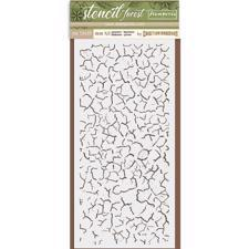 Stamperia Thick Stencil - Crackle
