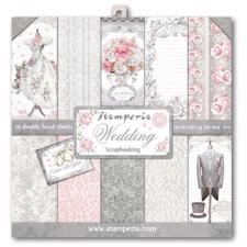 "Stamperia Paper Pack 12x12"" - Wedding"