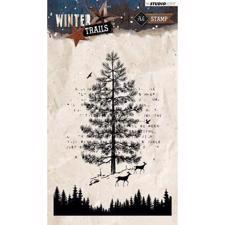 Studiolight Clear Stamp - Large Pine Tree