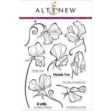 Altenew Clear Stamp Set - Sweetest Peas