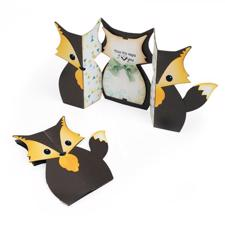 SizzixThinlits Die Set - Fold-a-Long Card / Fox