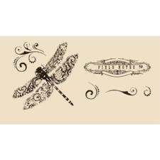 Clear Stamp Set - Tattered Angels / Field Notes
