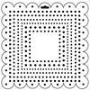 "Template 6x6"" - Square Dots"