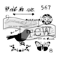 "Crafter's Workshop Template 12x12"" - Chickadee Post"