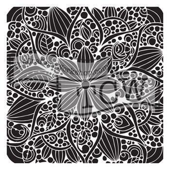 "Crafter's Workshop Template 12x12"" - Doodle Bloom"