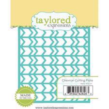 Taylored Expressions Dies - Chevron Cutting Plate