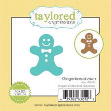 Taylored Expressions Dies - Gingerbread Man