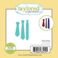 Taylored Expressions Dies - Little Bits / Neckties