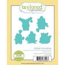 Taylored Expressions Dies - Holiday Grumplings