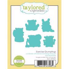 Taylored Expressions Dies - Exercise Grumplings