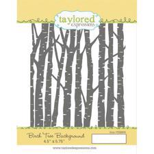 Taylored Expressions Stamps - Background / Birch Tree
