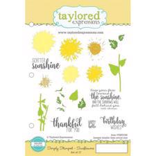 Taylored Expressions Stamps - Simply Stamped Sunflowers