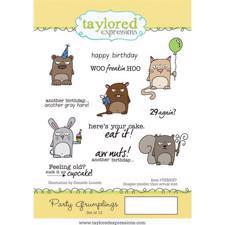 Taylored Expressions Stamps - Party Grumplings