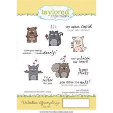 Taylored Expressions Stamps - Valentine Grumplings