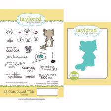 Taylored Expressions Stamps & Dies - If Cats Could Talk
