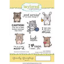 Taylored Expressions Stamps - Grouchy Grumplings
