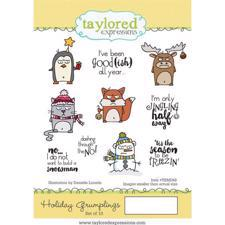 Taylored Expressions Stamps - Holiday Grumplings