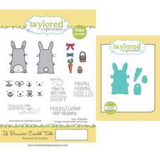 Taylored Expressions Stamps & Dies - If Bunnies Could Talk