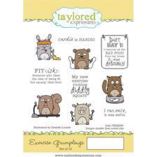 Taylored Expressions Stamps - Exercise Grumplings