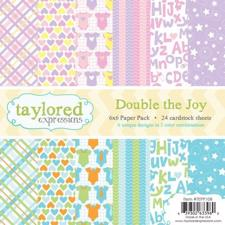 Taylored Expressions Paper Pad - Double the Joy