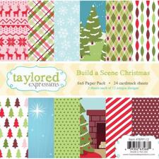 Taylored Expressions Paper Pad - Build a Scene / Christmas