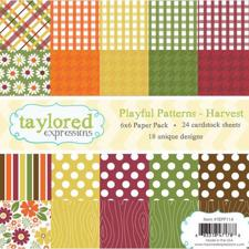 Taylored Expressions Paper Pad - Playfull Patterns / Harvest