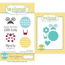 Taylored Expressions Stamps & Dies - Bugs & Balloons