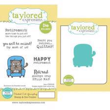 Taylored Expressions Stamps & Dies - Clocked Out Grumpling