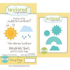 Taylored Expressions Stamps & Dies - Sunny Days
