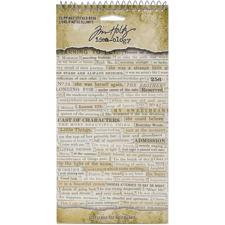 Tim Holtz / Idea-ology - Clippings Sticker Book 2020