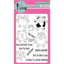 Pink & Main Clear Stamp Set - The Herd