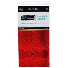 Brutus Monroe Deco Foil - Red Static