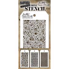 Tim Holtz MINI Stencil Set - #46