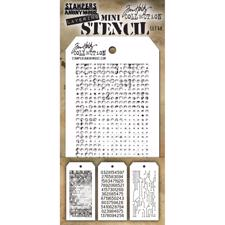 Tim Holtz MINI Stencil Set - #48