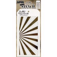 Tim Holtz Layered Stencil - Shifter Rays