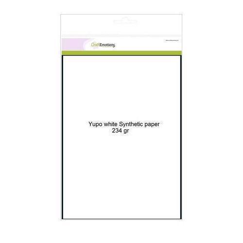 CraftEmotions YUPO Paper - A4 234 g (10 ark)
