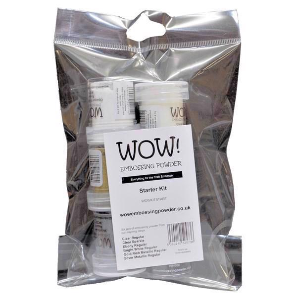 WOW Embossing Pulver - Starter KIT
