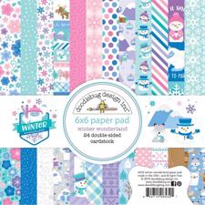 "Doodlebug Design Paper Pad 6x6"" - Winter Wonderland"