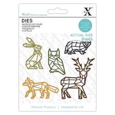 X-Cut Die Set - Geometric Woodland Animals