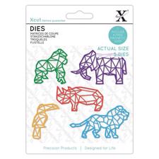 X-Cut Die Set - Geometric Tropical Animals
