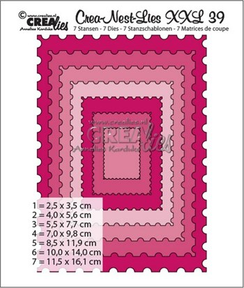 CREAlies - Crea-Nest-Lies XXL - No. 39 / Stamps