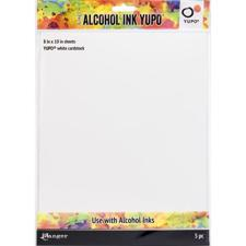 "Tim Holtz Alcohol Ink YUPO Paper - White (8x10"")"